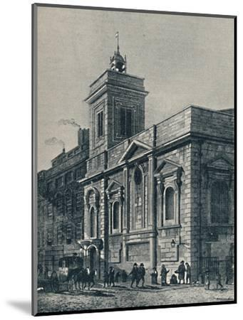 'St. Mildred's Church, and the Poultry', 1907-Unknown-Mounted Giclee Print