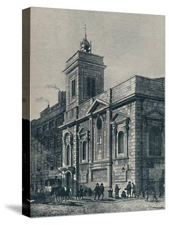 'St. Mildred's Church, and the Poultry', 1907-Unknown-Stretched Canvas Print