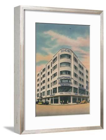 'Nico Building, Owners: P. & M. Matera, Barranquilla', c1940s-Unknown-Framed Giclee Print
