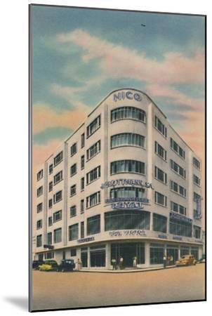 'Nico Building, Owners: P. & M. Matera, Barranquilla', c1940s-Unknown-Mounted Giclee Print