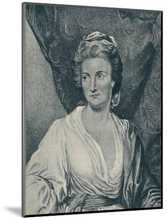 'Lady Diana Beauclerk (b. 1734, d. 1808)', 1907-Unknown-Mounted Giclee Print