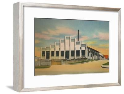 'Milk Producers' Cooperative, Barranquilla', c1940s-Unknown-Framed Giclee Print