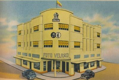 'Foto Volasco Building, Barranquilla', c1940s-Unknown-Framed Giclee Print