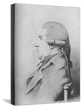 'James Boswell (b. 1740, d. 1795)', 1907-Unknown-Stretched Canvas Print