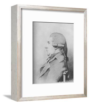 'James Boswell (b. 1740, d. 1795)', 1907-Unknown-Framed Giclee Print
