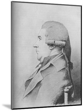 'James Boswell (b. 1740, d. 1795)', 1907-Unknown-Mounted Giclee Print