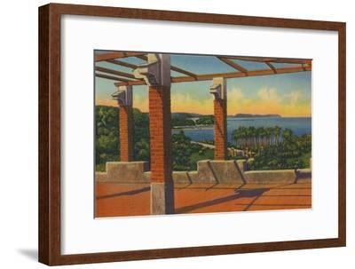'Salgar Bathing Beach, 18 kilometers from Barranquilla', c1940s-Unknown-Framed Giclee Print