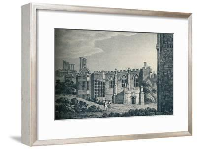 'The Ruins of Cowdray House, near Midhurst, Sussex', 1907-Unknown-Framed Giclee Print