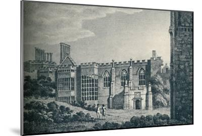 'The Ruins of Cowdray House, near Midhurst, Sussex', 1907-Unknown-Mounted Giclee Print