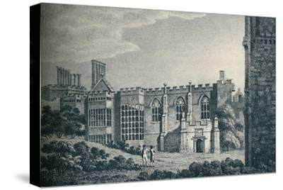 'The Ruins of Cowdray House, near Midhurst, Sussex', 1907-Unknown-Stretched Canvas Print