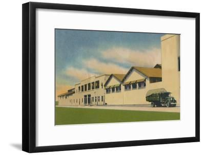 'Internal Revenue Administration Building of the Department of Atlantico', c1940s-Unknown-Framed Giclee Print