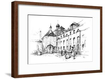 'Thrale's Brewery, Southwark', 1907-Unknown-Framed Giclee Print