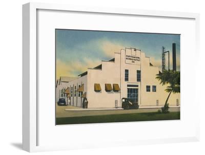 'Industria Nacional de Grasas Vegetales S. A. Barranquilla', c1940s-Unknown-Framed Giclee Print