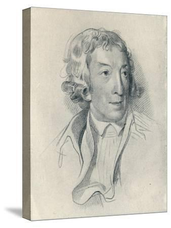 'Horace Walpole (b. 1717, d. 1797)', 1907-Unknown-Stretched Canvas Print
