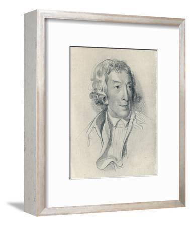 'Horace Walpole (b. 1717, d. 1797)', 1907-Unknown-Framed Giclee Print