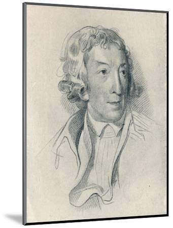 'Horace Walpole (b. 1717, d. 1797)', 1907-Unknown-Mounted Giclee Print