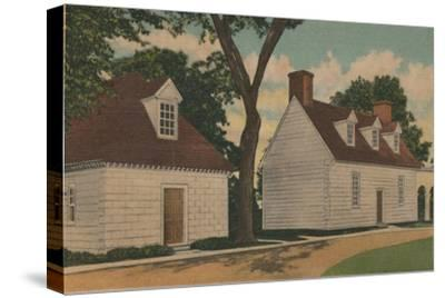 'Gardener's House and Office', 1946-Unknown-Stretched Canvas Print