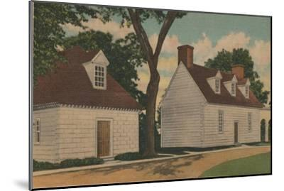 'Gardener's House and Office', 1946-Unknown-Mounted Giclee Print