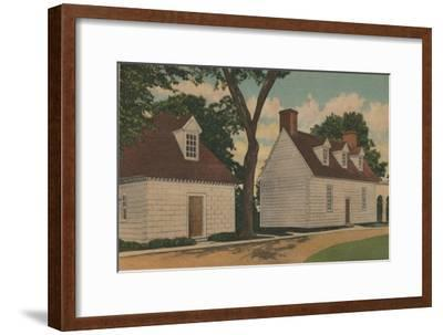 'Gardener's House and Office', 1946-Unknown-Framed Giclee Print