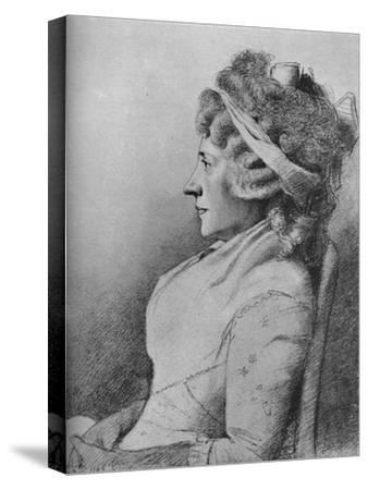'Hester Lynch Piozzi (b. 1741, d. 1821)', 1907-Unknown-Stretched Canvas Print