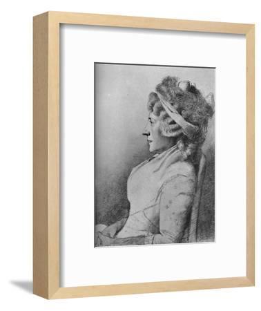 'Hester Lynch Piozzi (b. 1741, d. 1821)', 1907-Unknown-Framed Giclee Print