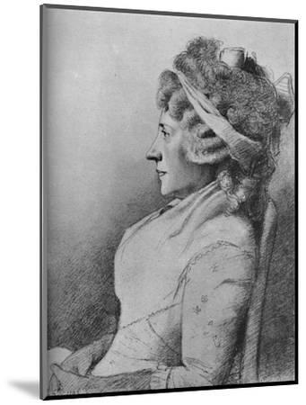 'Hester Lynch Piozzi (b. 1741, d. 1821)', 1907-Unknown-Mounted Giclee Print