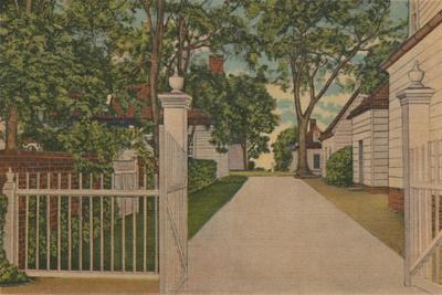 'A View of the North Lane', 1946-Unknown-Framed Giclee Print