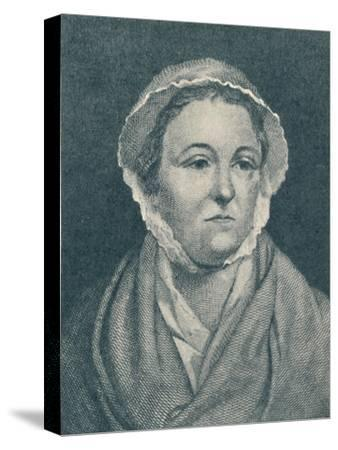 'Anna Williams (b. 1706, d. 1783)', 1907-Unknown-Stretched Canvas Print