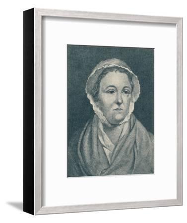 'Anna Williams (b. 1706, d. 1783)', 1907-Unknown-Framed Giclee Print