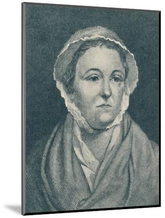'Anna Williams (b. 1706, d. 1783)', 1907-Unknown-Mounted Giclee Print
