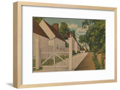 'The South Lane', 1946-Unknown-Framed Giclee Print