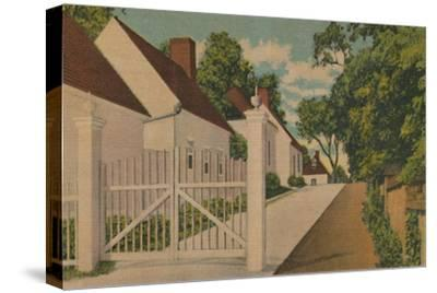 'The South Lane', 1946-Unknown-Stretched Canvas Print
