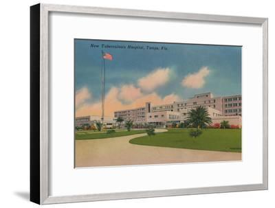 'New Tuberculosis Hospital, Tampa, Fla.', c1940s-Unknown-Framed Giclee Print