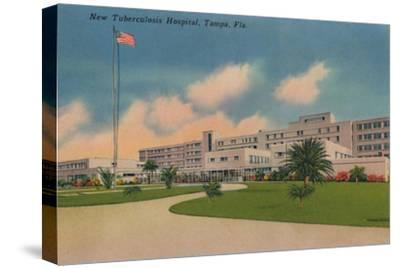 'New Tuberculosis Hospital, Tampa, Fla.', c1940s-Unknown-Stretched Canvas Print