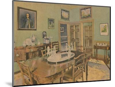 'The Family Dining Room', 1946-Unknown-Mounted Giclee Print