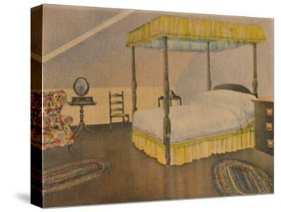 'Mrs. Washington's Bedroom', 1946-Unknown-Stretched Canvas Print