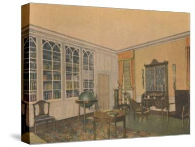 'The Library', 1946-Unknown-Stretched Canvas Print