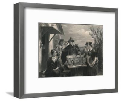 'Autolycus (The Winter's Tale)', c1870-Unknown-Framed Giclee Print