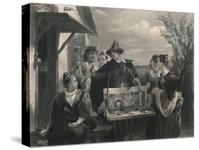 'Autolycus (The Winter's Tale)', c1870-Unknown-Stretched Canvas Print