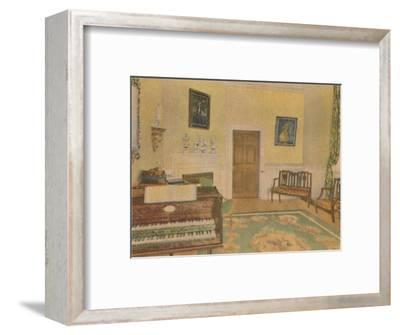 'The Music Room', 1946-Unknown-Framed Giclee Print