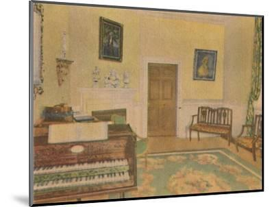 'The Music Room', 1946-Unknown-Mounted Giclee Print