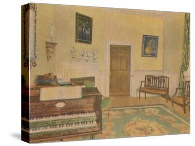 'The Music Room', 1946-Unknown-Stretched Canvas Print