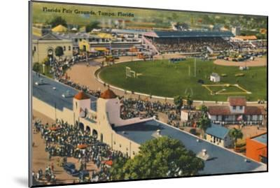 'Florida Fair Grounds, Tampa, Florida', c1940s-Unknown-Mounted Giclee Print