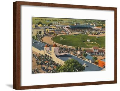 'Florida Fair Grounds, Tampa, Florida', c1940s-Unknown-Framed Giclee Print