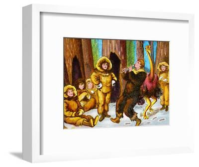 'The lost boys', c1905-Unknown-Framed Giclee Print