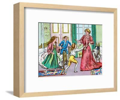 'Home again', c1905-Unknown-Framed Giclee Print