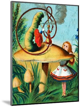 'The caterpillar on his mushroom', c1900-Unknown-Mounted Giclee Print