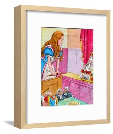 'What do you know about this business?', c1900-Unknown-Framed Giclee Print