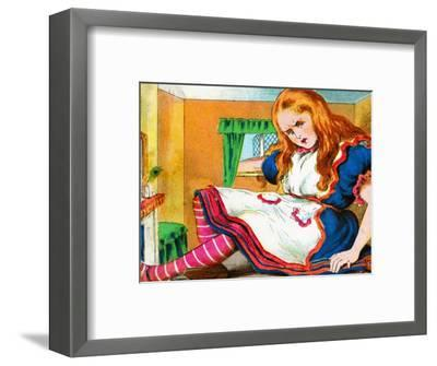 'She grew and grew', c1900-Unknown-Framed Giclee Print