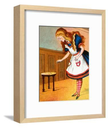 'Curiouser and curiouser, cried Alice', c1900-Unknown-Framed Giclee Print
